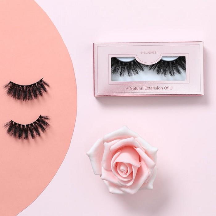 Nadula Free Gift 1PC 3D Mink Lashes Natural False Eyelashes Volume Makeup Eyelash Extension