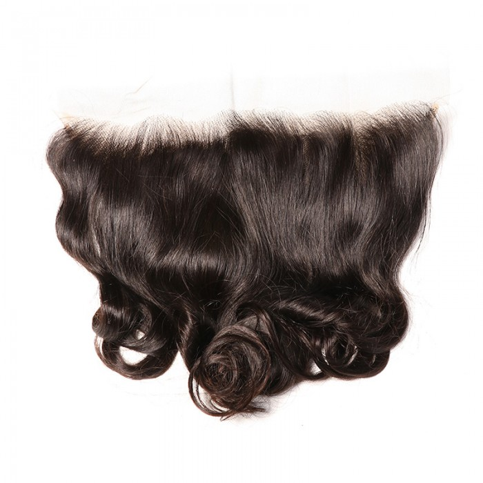 Nadula Good Quality 13x4 Ear To Ear Loose Wave Lace Frontal Closure Soft Natural Virgin Hair