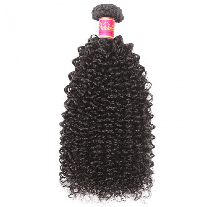 Nadula Kinky Curly Hair Weave 1 Bundle 8-26 Inch Virgin Hair Good Quality