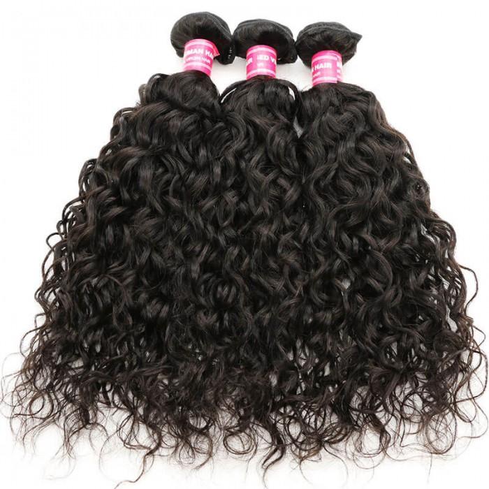 Nadula Best Virgin Brazilian Water Wave Hair Weave 3 Bundles Deals Hot Selling New Hair Style