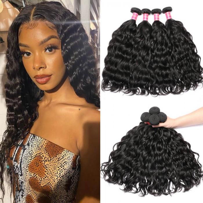 Nadula Quality Brazilian Natural Wave Hair 4 Bundles Soft Virgin Brazilian Hair Weave Free Shipping