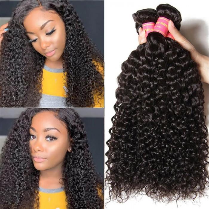 Nadula Wholesale 3 Bundles of Malaysian Jerry Curly Hair Weave Bundle Deals