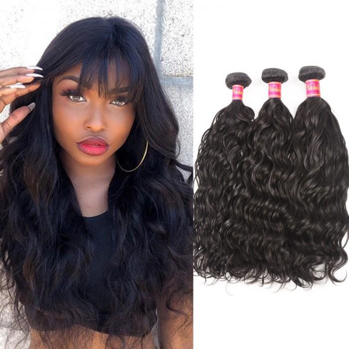 Nadula Special Virgin Malaysian Natural Wave Unprocessed Malaysian Virgin Human Hair Weave 3 Bundles