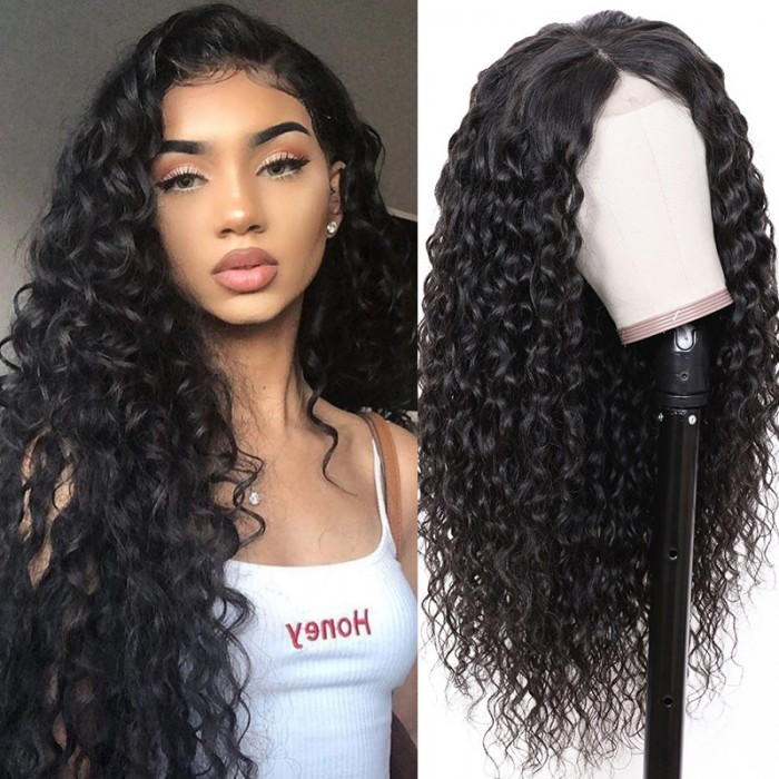 Nadula High Quality Latest Fabulous Lace Front 150% Density Wigs 100% Human Hair 13*4 Water Wave