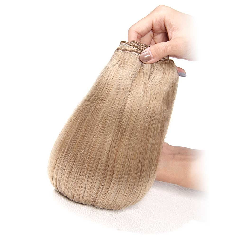 Nadula Clip In Real Human Hair Extensions Virgin Indian