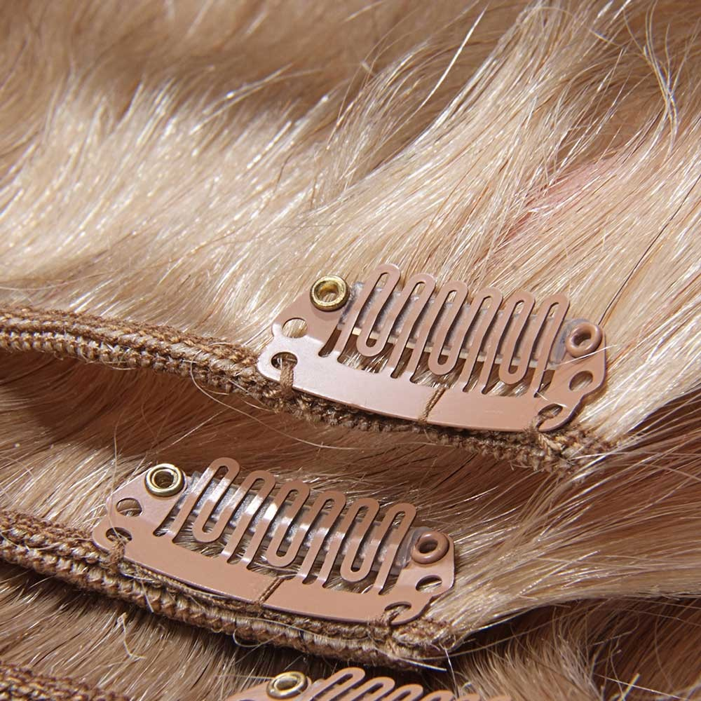 Nadula clip in real human hair extensions virgin indian natural cheap real hair extensions clip in pmusecretfo Images
