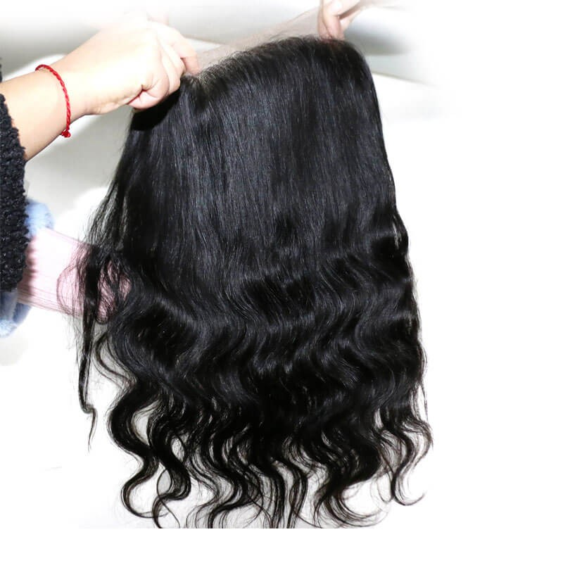 Body wave virgin hair 2 bundles with 360 lace closure nadula wavy human hair closure pmusecretfo Images