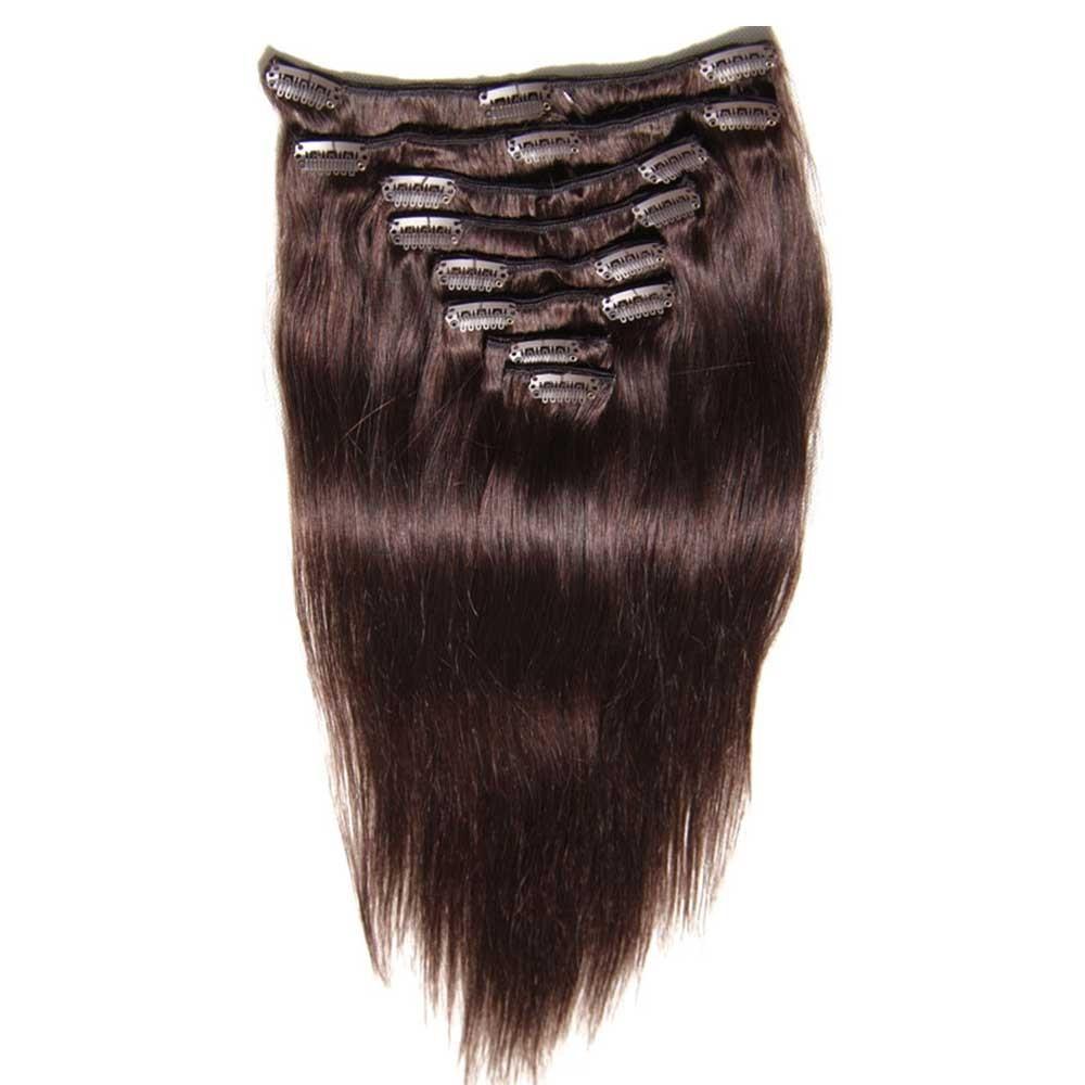 Nadula good feedback thick 100 human hair extensions clip in for clip in extensions for thin hair pmusecretfo Image collections