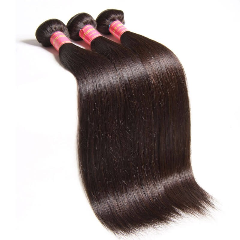 Nadula Cheap Virgin 3 Bundles Of Peruvian Straight Hair ...
