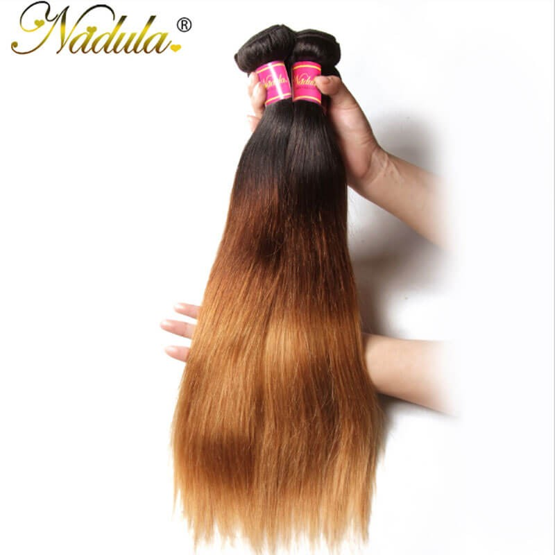 Nadula cheap straight ombre hair weave 4 bundles 3 tone color cheap brazilian ombre hair 3 bundles pmusecretfo Gallery