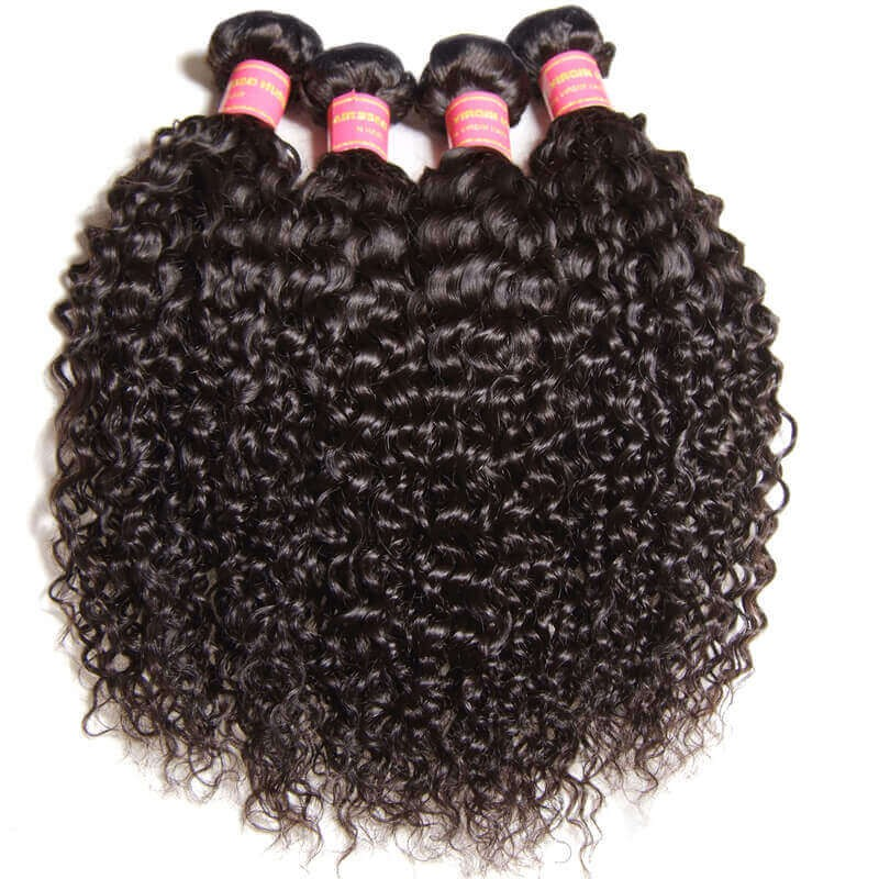 Nadula Cheap Brazilian Curly Virgin Hair Weave 4 Bundles
