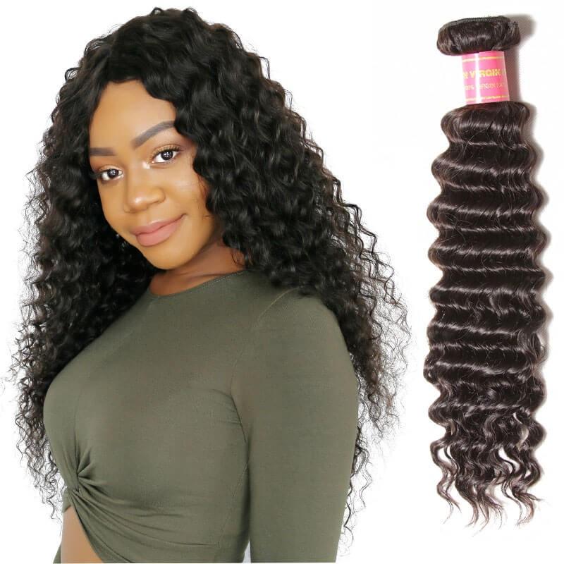 nadula cheap brazilian deep wave hair 1 bundle deals