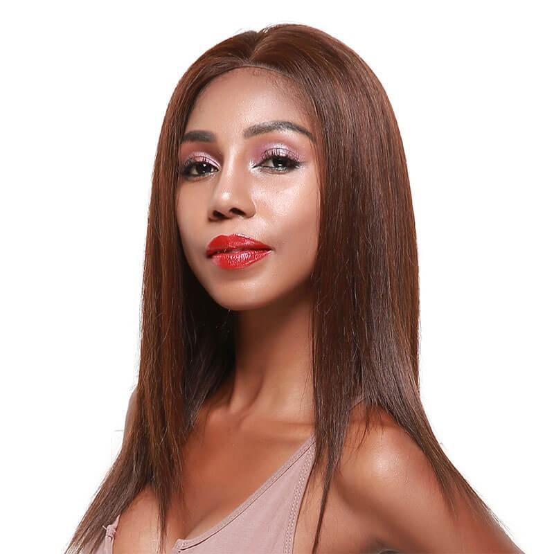 Nadula Cheap Full Lace Wigs Straight Human Hair