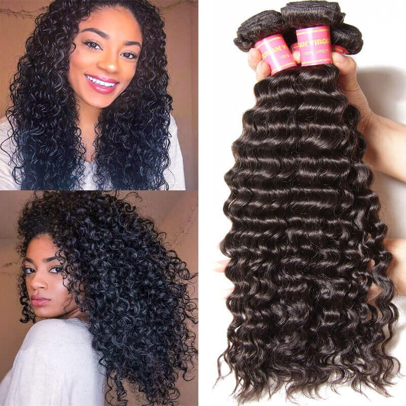 Nadula Malaysian Virgin Hair Weave 3 Bundles Virgin