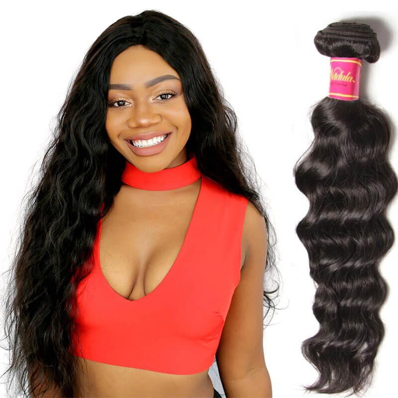 Nadula Real Virgin Brazilian Hair Weave Natural Wave 1 ...