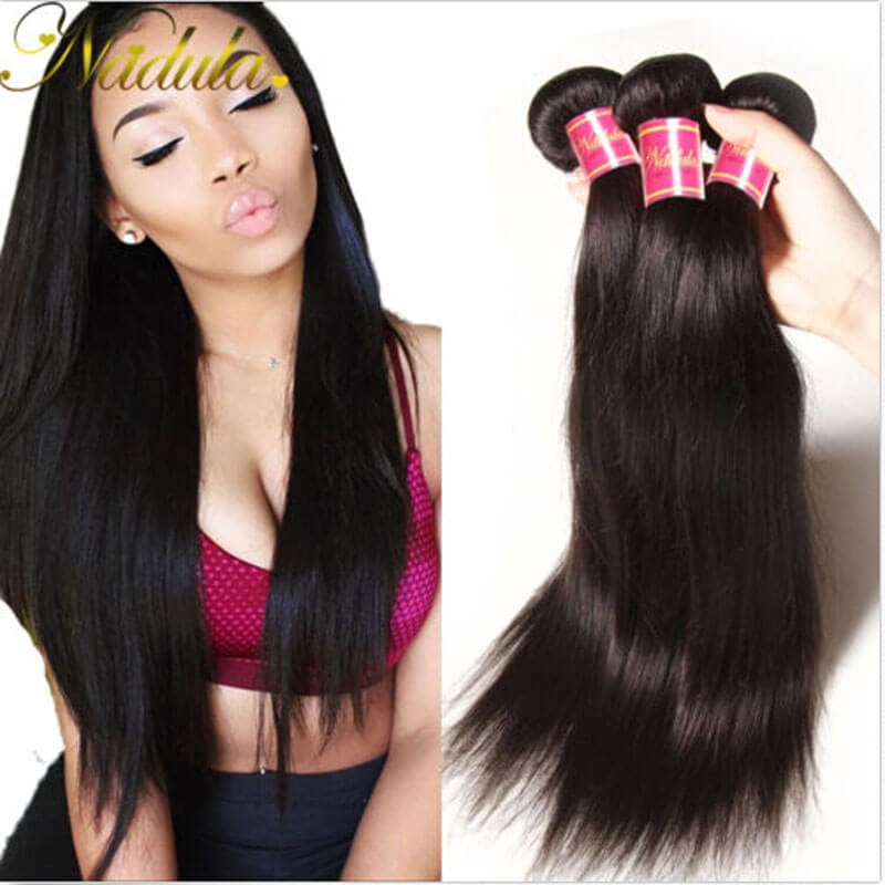Nadula wholesale cheap virgin malaysian straight hair weave 4 malaysian straight hair sew in pmusecretfo Image collections