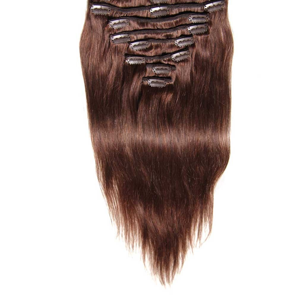 Nadula straight clip in indian virgin human hair extensions clip in human hair extensions pmusecretfo Image collections