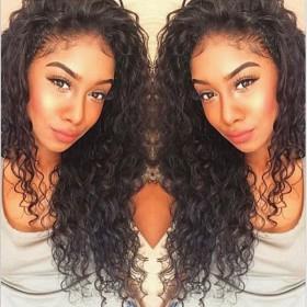 Nadula 100% Unprocessed Virgin Peruvian Kinky Curly Weave Remy Peruvian Human Hair Weave