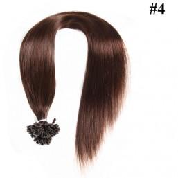 Nadula Cheap Indian Remy Human Hair Pre Bonded Nail U Tip Keratin Fusion Hair Extensions