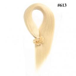 Nadula Cheap Nail U Tip Keratin Fusion Hair Extensions Straight Pre Bonded Indian Remy Hair