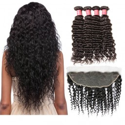 hair weave with frontal