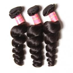 peruvian loose wave hair