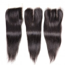 brazilian straight hair lace closure