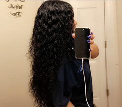 100% human natural wave hair