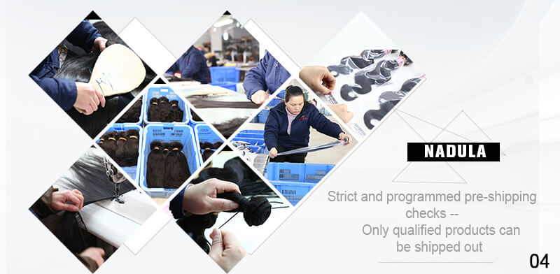 Strict and programmed pre-shipping checks--Only qualified products can be shipped out