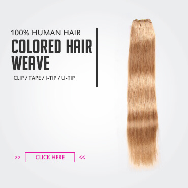 Colored Human Hair Weave