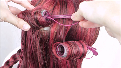 How To Curl A Synthetic Wig With Rollers
