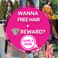 Wanna Free Hair+Reward?