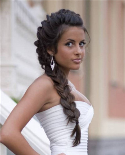 weding hairstyles with extensions