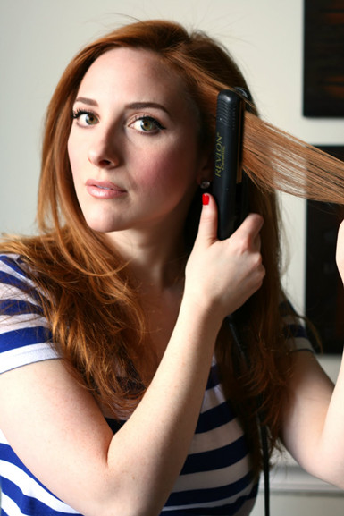straighten_your_hair_at_home
