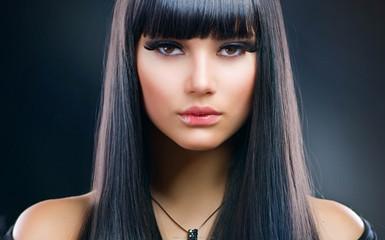 straight human hair