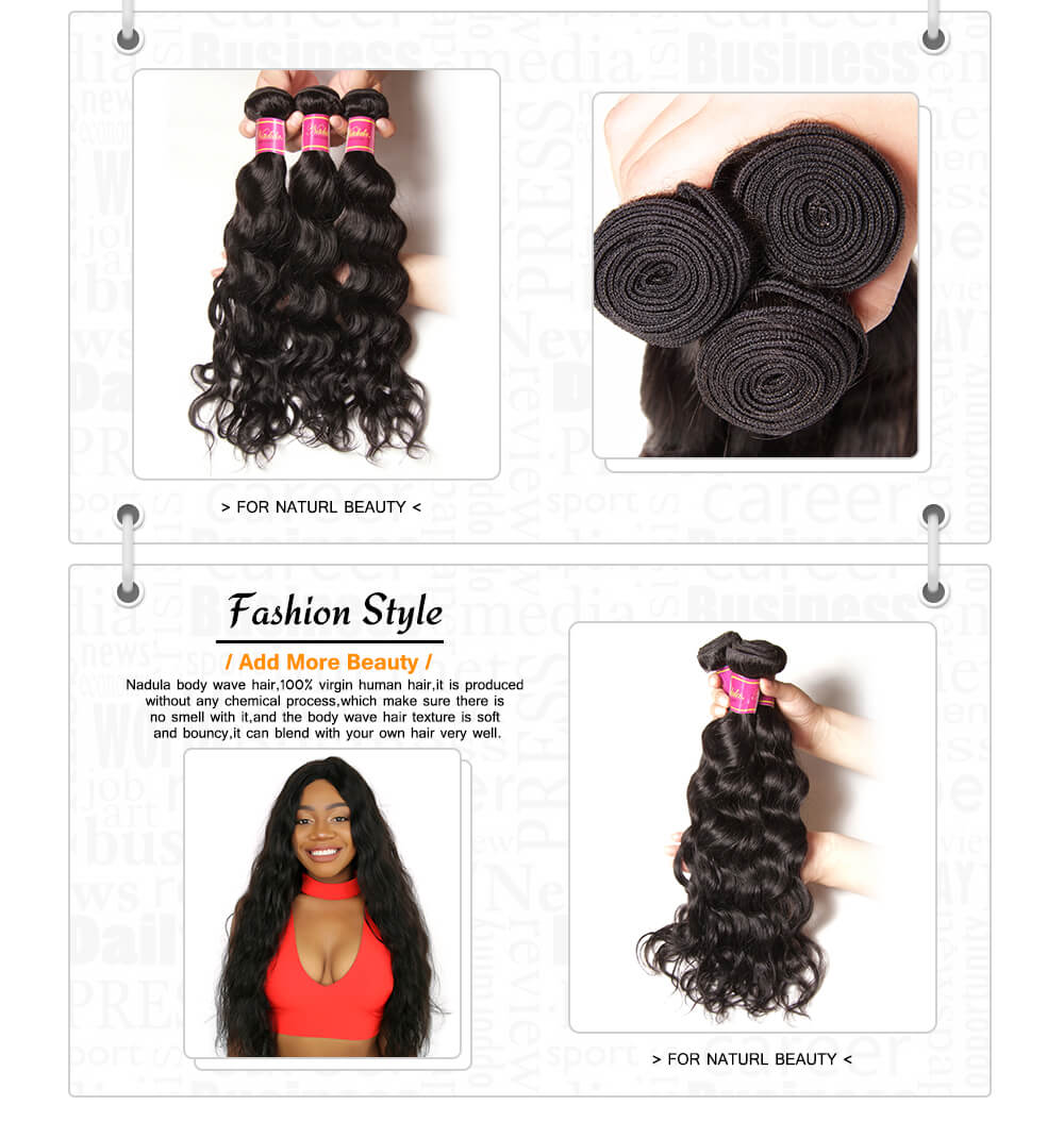 nadula cheap brazilian virgin hair 3 bundles natural wave