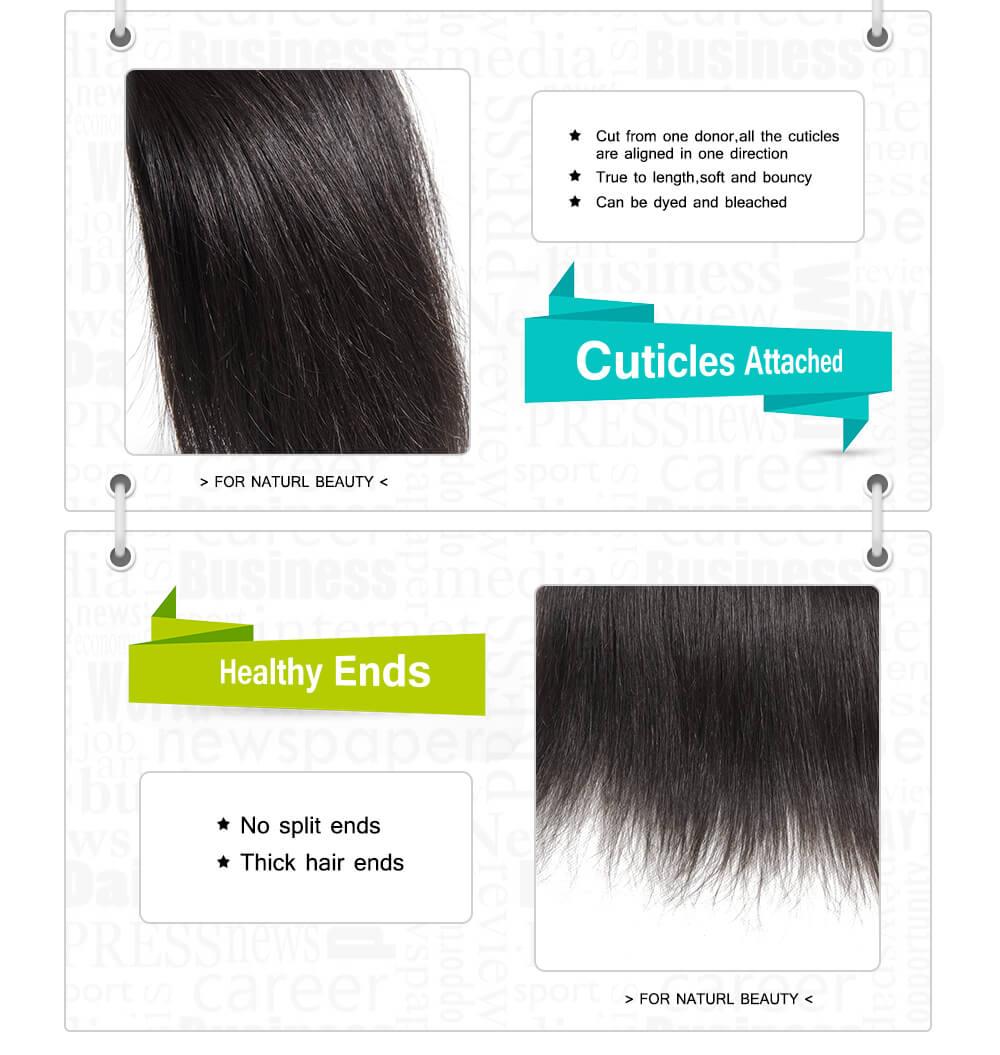 virgin hair bundle deals with closure