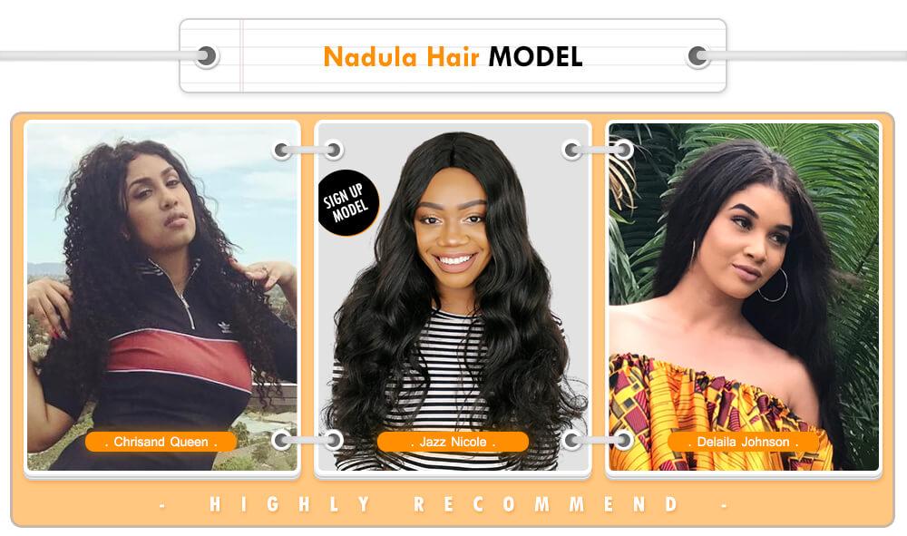 nadula hair model