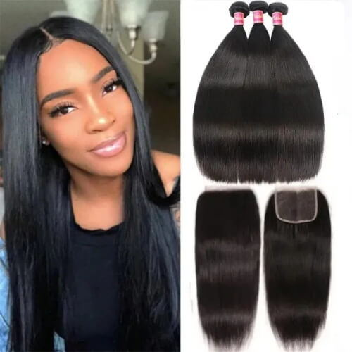 3 bundles and a closure straight