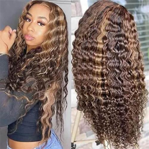 balayage curly wig
