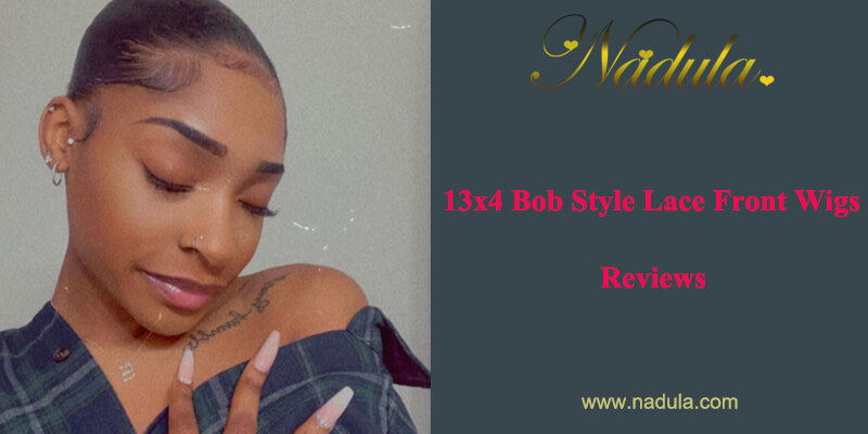 13x4 Bob Style Lace Front Wigs Reviews
