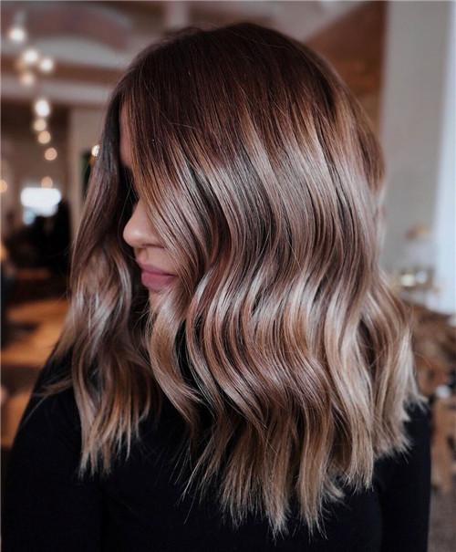 bronde coloring for medium hair