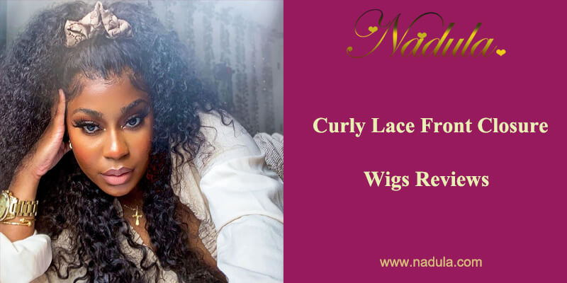 Curly Lace Front Closure Wigs Reviews