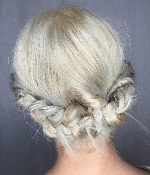 pretty halo braid