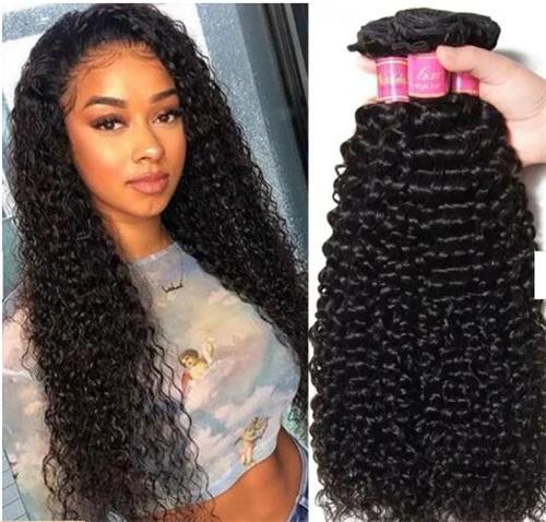 brazilain curly weave