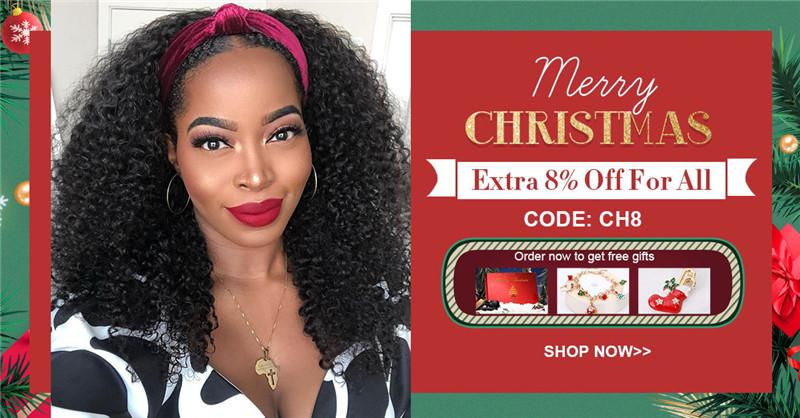 christmas hair wigs and bundles