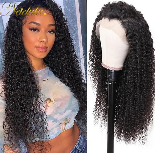 curly wig transparent