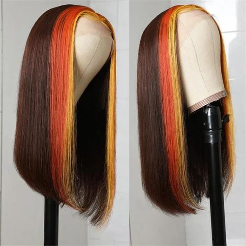 hair streaks wig