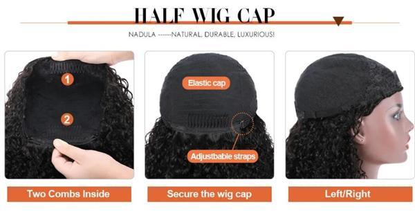 half wig cap