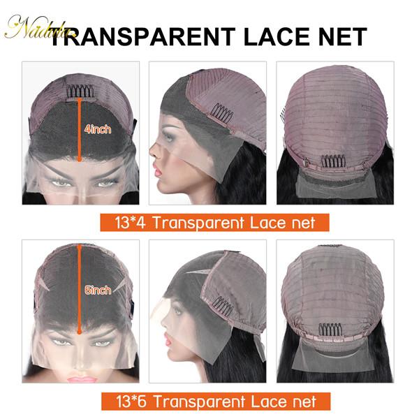 nadula transparent lace net